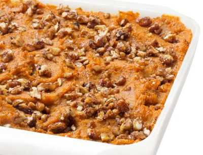Image for Make Thanksgiving Sweet Potato Casserole for Less Than 200 Calories
