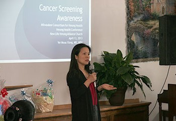 Image for Providing cancer prevention education and screening to Southeast Asian communities