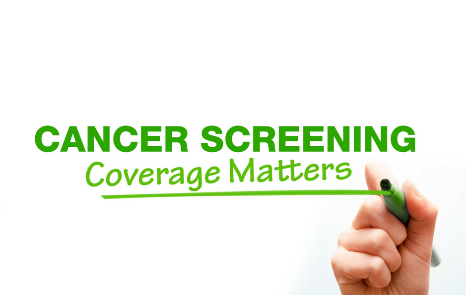Cancer screening coverage matters