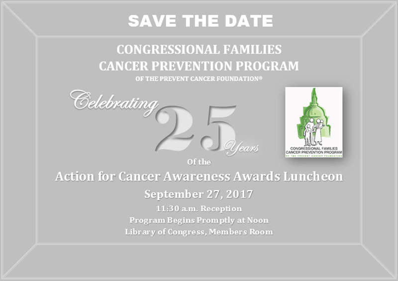 Action for Cancer Awareness Awards Luncheon: Sept. 27, 2017