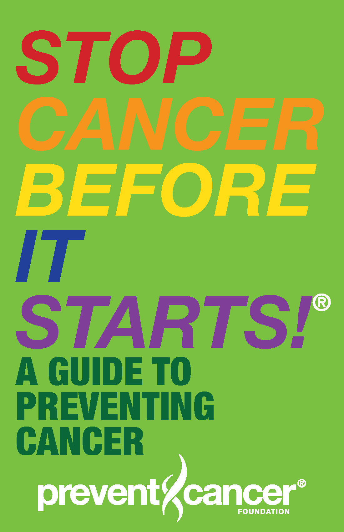 Stop Cancer Before it Starts! A Guide to Preventing Cancer