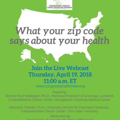 Image for What your zip code says about your health [webcast]