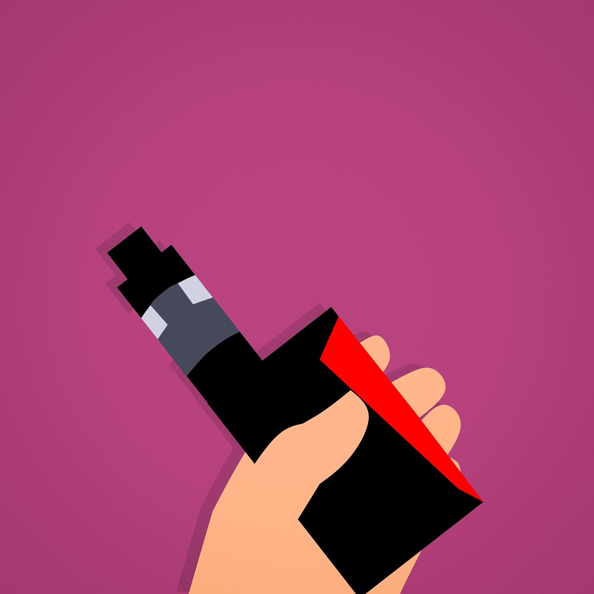 [e-cigarette illustration]