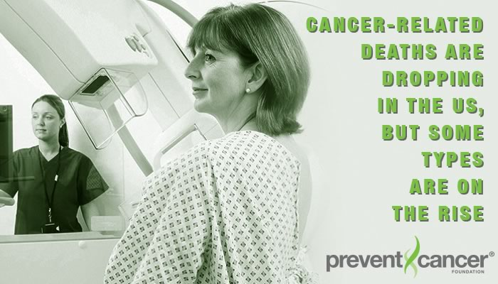 Cancer-related deaths are dropping in the US, but some types are on the rise