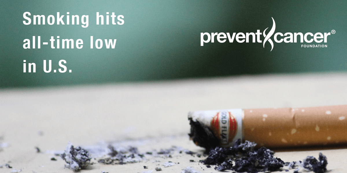 Smoking hits all-time low in U.S.
