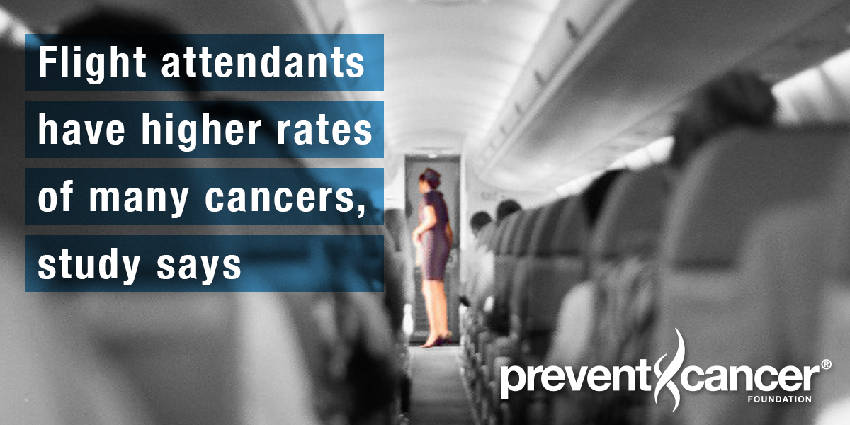 Flight attendants have higher rates of many cancers, study says