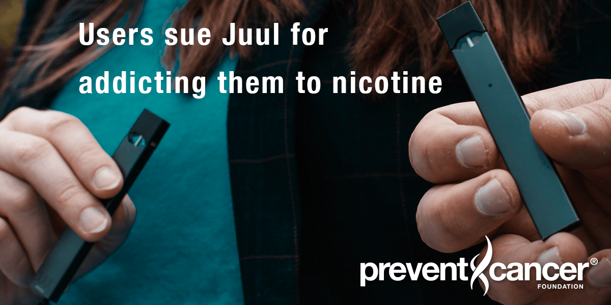 Users sue Juul for addicting them to nicotime