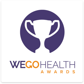 Image for Proud to be a WEGO Health Award nominee – now we need your help to win!
