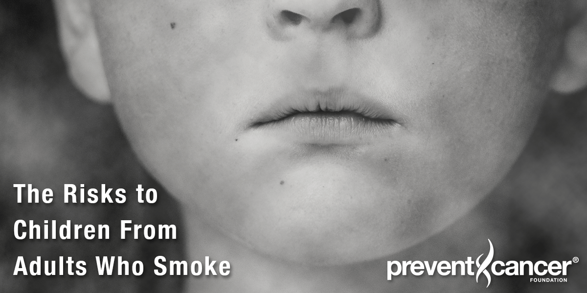 The Risks to Children From Adults Who Smoke