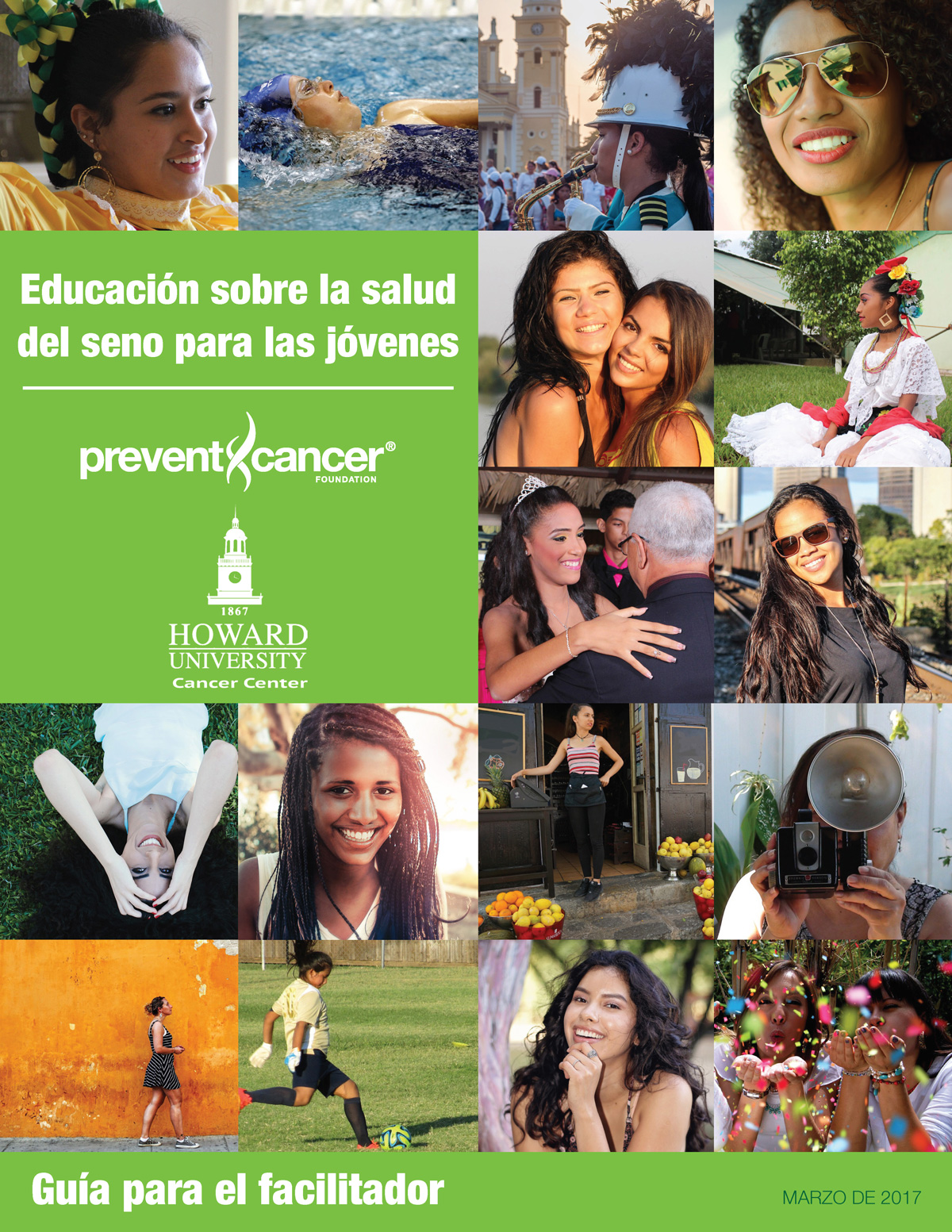 Educación sobre la salud del seno para las mujeres jóvenes