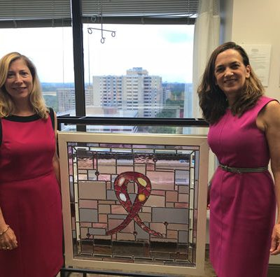 Image for A Window to Hope: The Living in Pink Breast Cancer Clinic