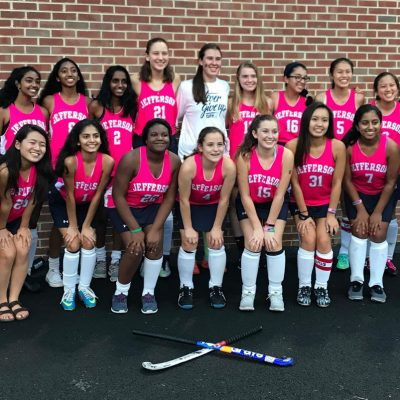 Image for Thomas Jefferson High School field hockey team scores big in championing cancer awareness