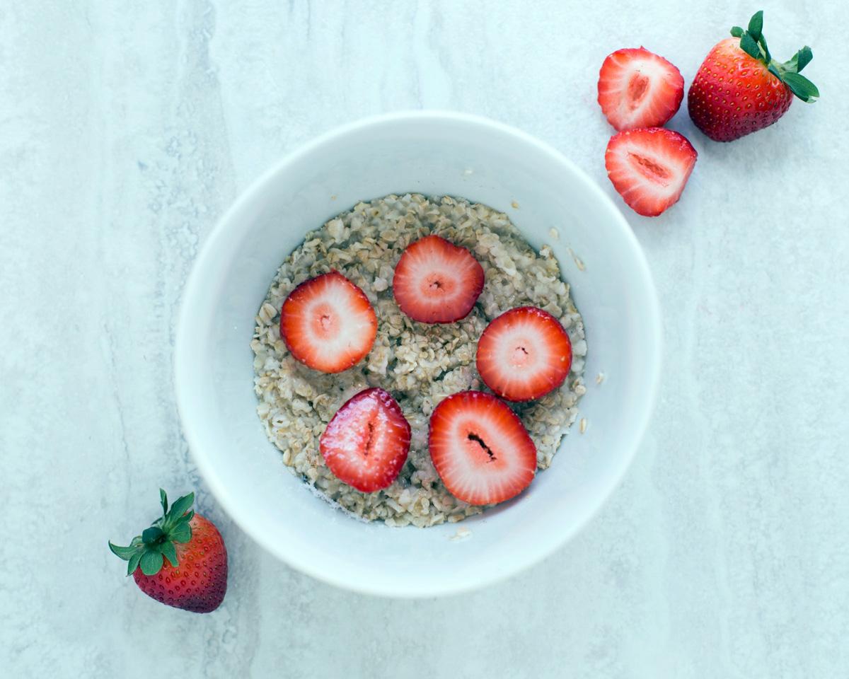 Recipe: brown sugar, cinnamon & chia seed oatmeal
