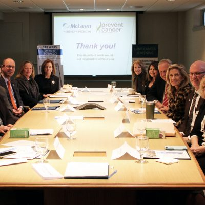 Image for Prevent Cancer Foundation® visits McLaren Northern Michigan Foundation, recipient of $25,000 grant for lung cancer prevention program