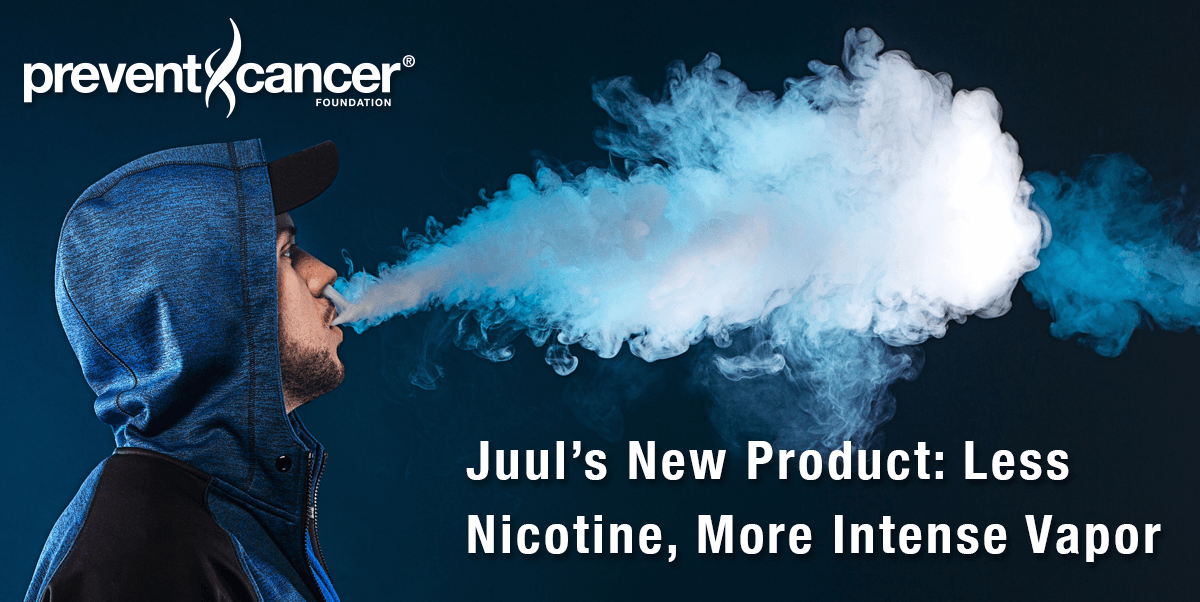 Juul's New Product: Less Nicotine, More Intense Vapor
