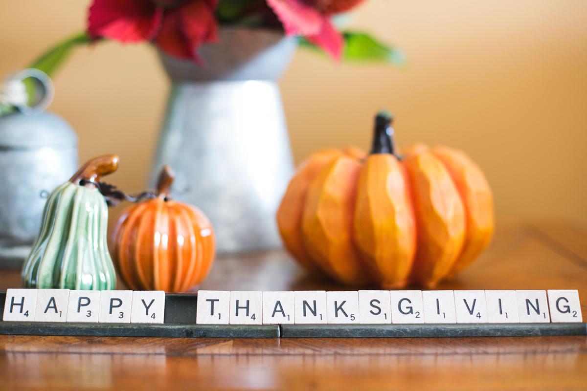 5 healthy Thanksgiving hacks
