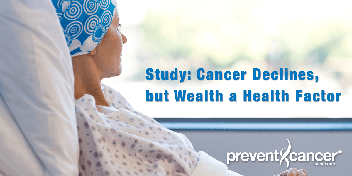 Study: Cancer Declines, but Wealth a Health Factor