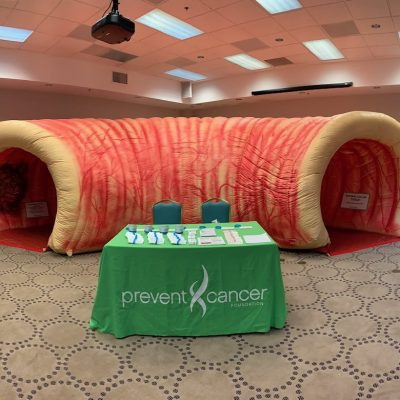 Image for Bay Mills community to explore giant inflatable colon