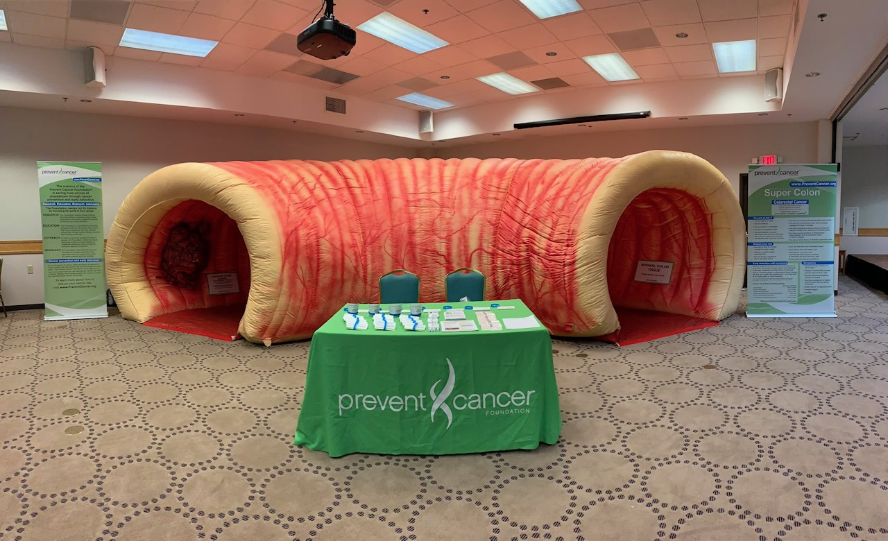 Bay Mills community to explore giant inflatable colon
