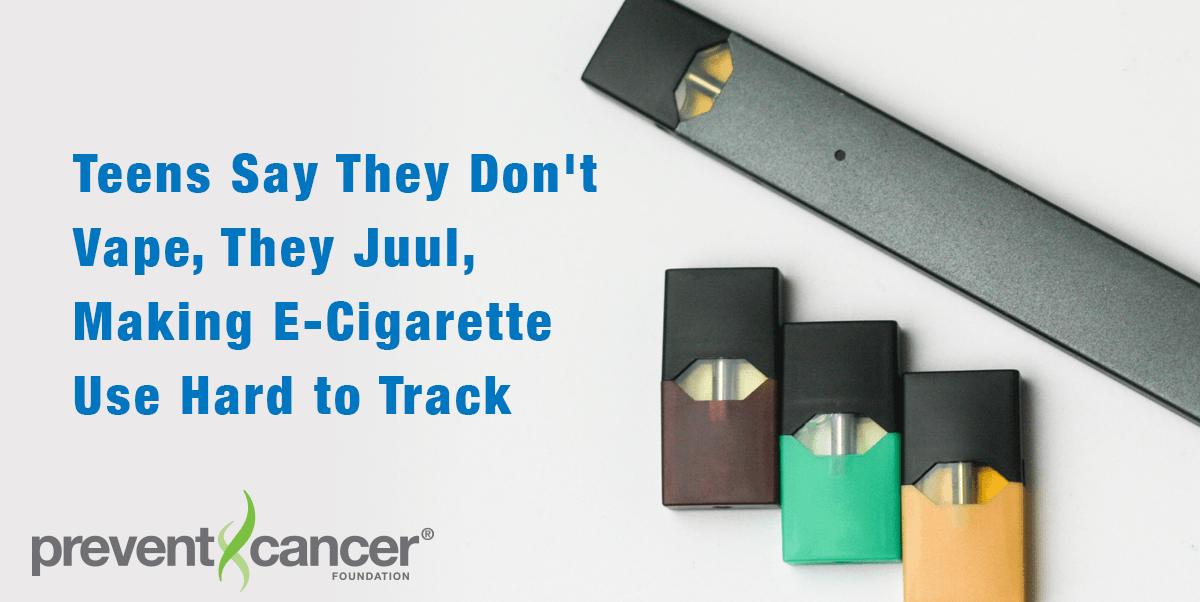 Teens Say They Don't Vape, They Juul, Making E-Cigarette Use Hard to Track