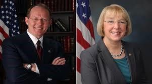 Senators Lamar Alexander and Patty Murray