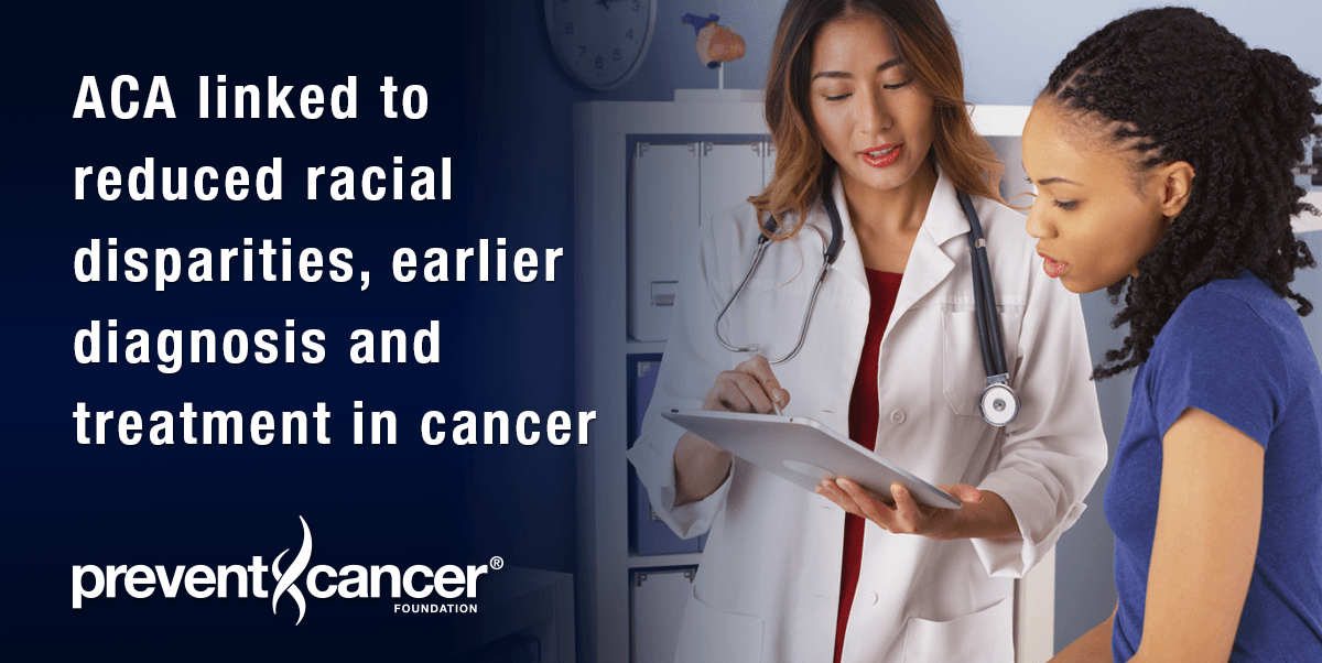 ACA linked to reduced racial disparities, earlier diagnosis and treatment in cancer