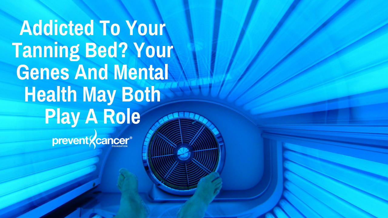 Addicted to your tanning bed? Your genes and mental health may both play a role