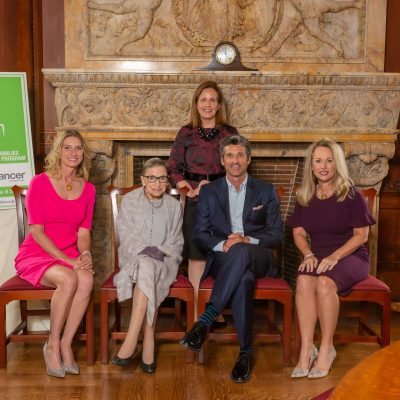 Image for U.S. Supreme Court Justice Ruth Bader Ginsburg, actor/producer Patrick Dempsey and congressional spouses LeeAnn Johnson and Amanda Soto honored at 27th annual bipartisan luncheon