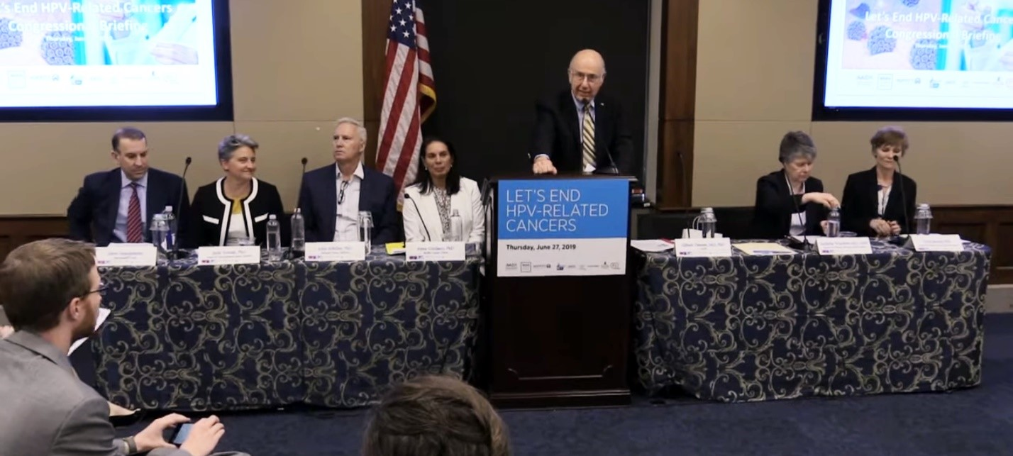 Congressional briefing: Let's End HPV-Related Cancers