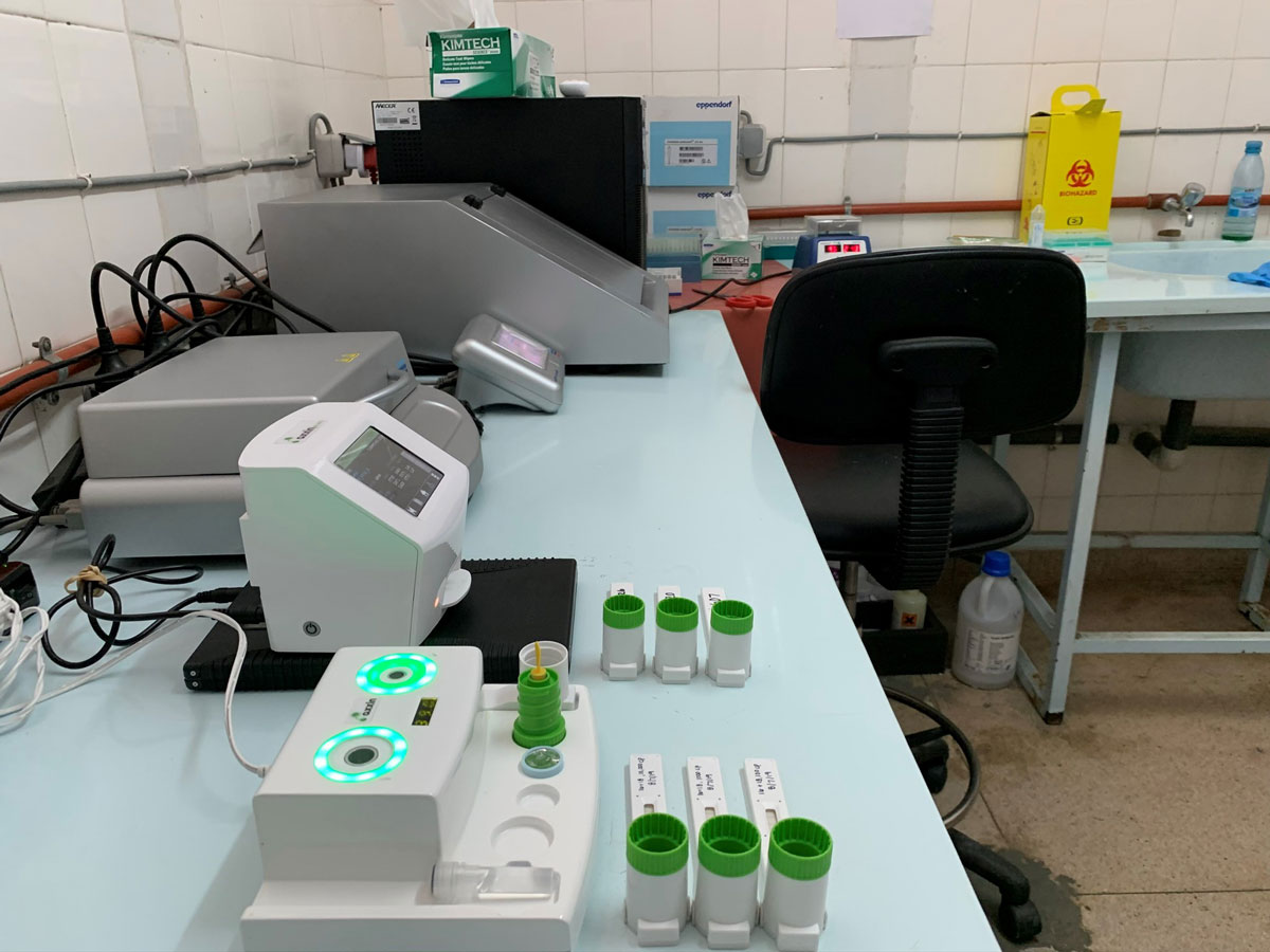Point-of-Care Isothermal HPV DNA Amplification Test for Cervical Cancer Screening in Mozambique - Rice University
