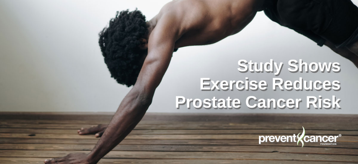 Study Shows Exercise Reduces Prostate Cancer Risk